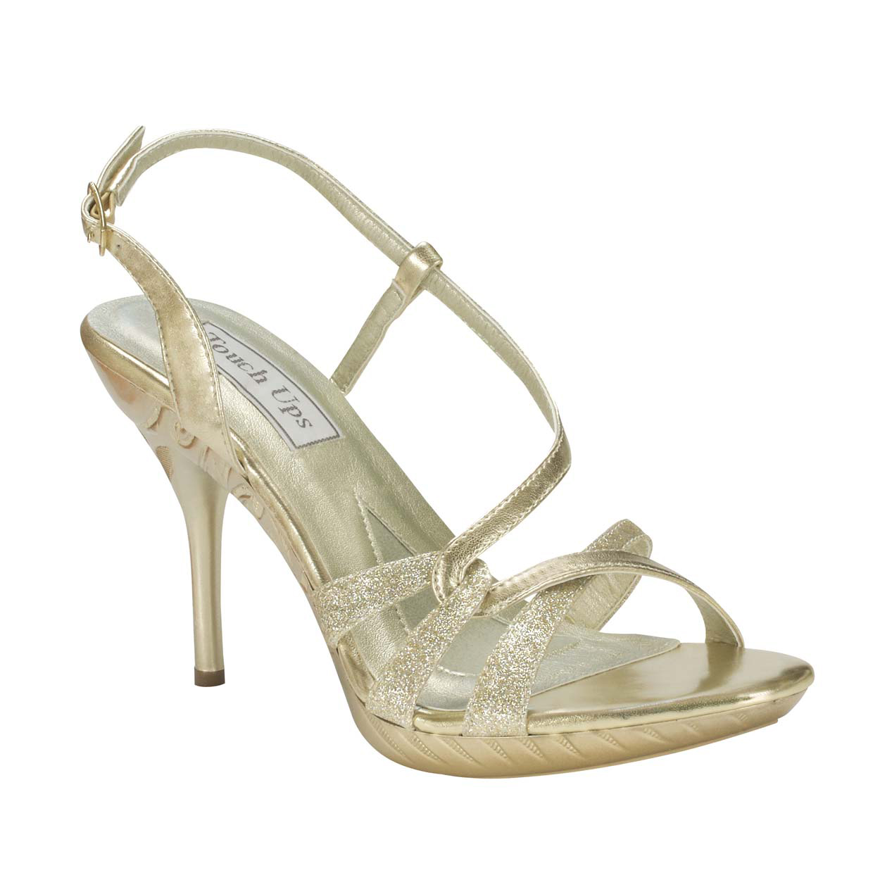 a43d063a1e7 Children s Shoes. TOUCH UPS TALIA WHITE 1 1 2″ CHILDREN S HEEL.  50.00. TOUCH  UPS FORTUNA GOLD