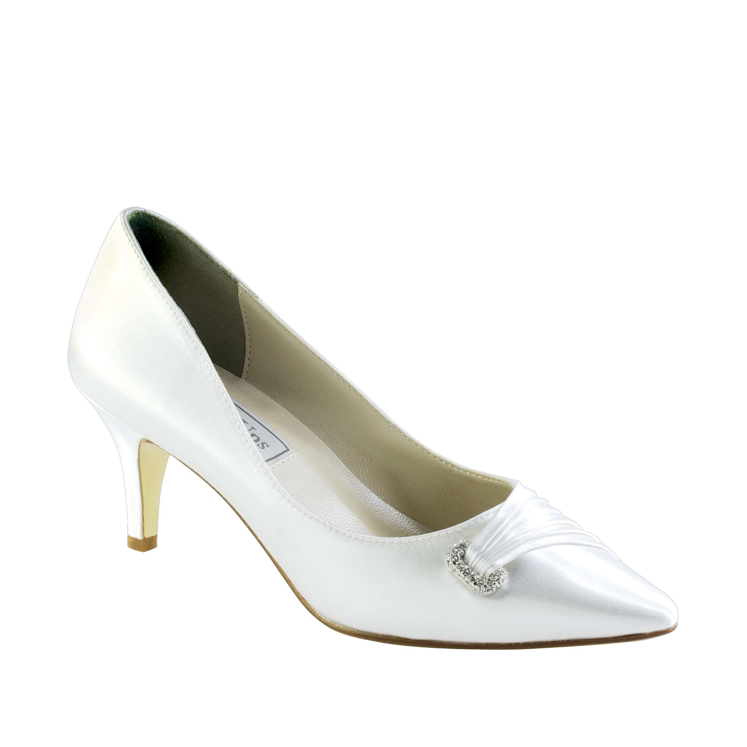 dyable wedding shoes touch ups chandra white 2 quot heel dyeable shoe 3781