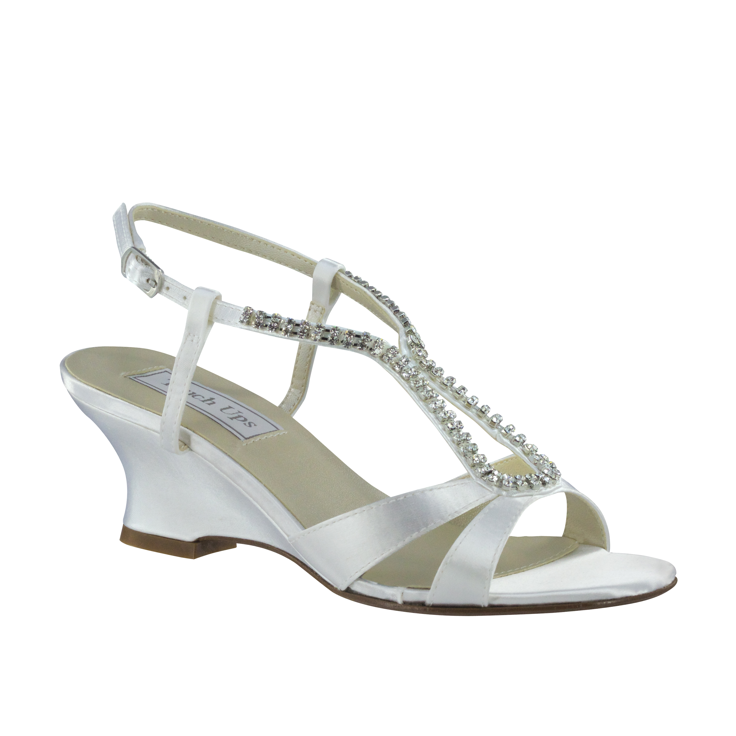 dyable wedding shoes touch ups bernie white 1 3 4 quot heel dyeable shoe 3781