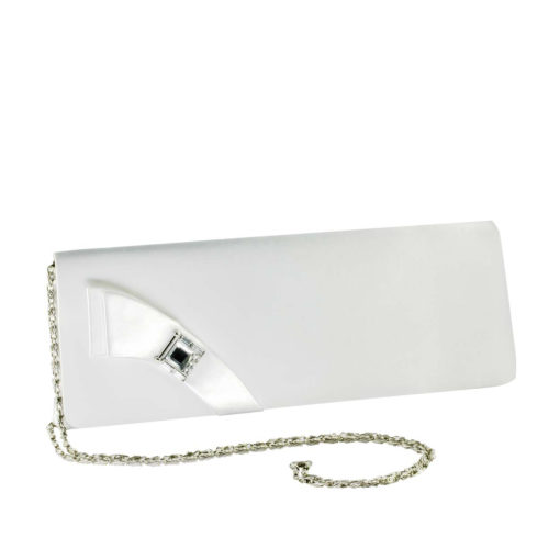 TOUCH UPS HEATHER WHITE HANDBAG