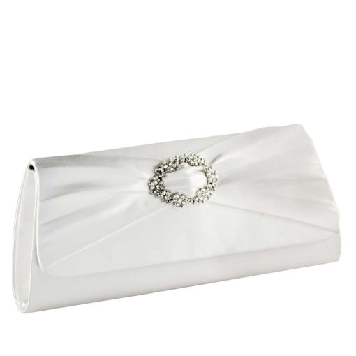 TOUCH UPS NOELLE WHITE HANDBAG