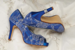 WINTER DYED COBALT BLUE