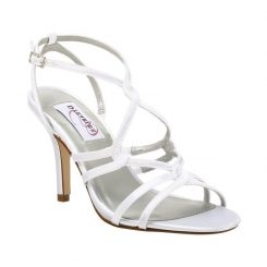 dyeables runway white satin