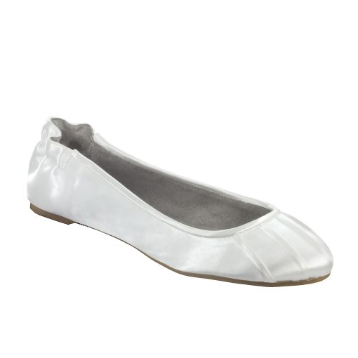 DYEABLES BELLA WHITE SATIN