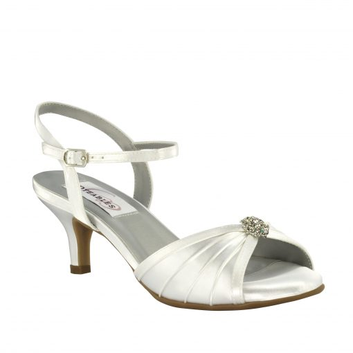 DYEABLES KELSEY WHITE SATIN