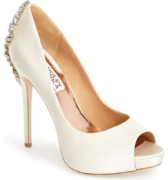 BADGLEY MISCHKA KIARA WHITE SILK