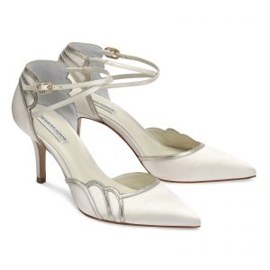 Comfortable Wedding High Heels Dyeable Wedding Shoes
