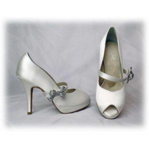 610e9fc209ba Angela Nuran Shoes - Dyeable Bridal Shoes   Dance Shoes - Dyeable ...