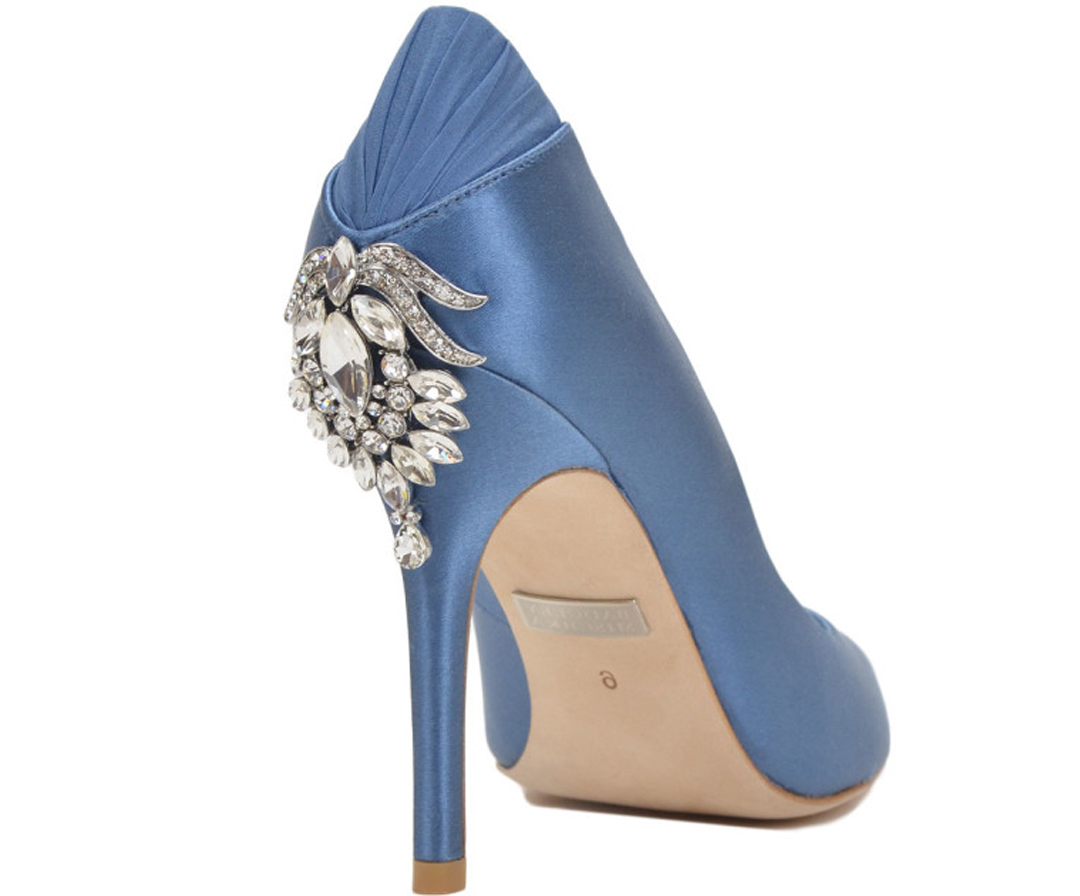 "BADGLEY MISCHKA CALI 3 3 4"" HEEL Dyeable Shoe Store"