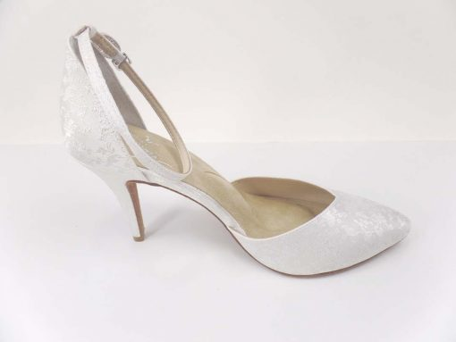 MILONGA WHITE BROCADE