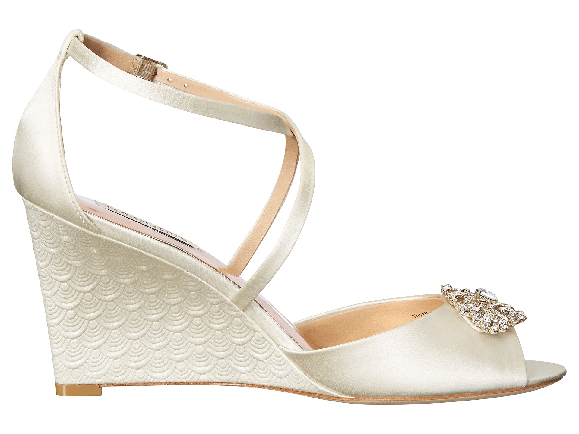 BADGLEY MISCHKA ABIGAIL IVORY SILK
