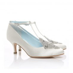 BELLA BELLE ANNALISE WHITE SILK