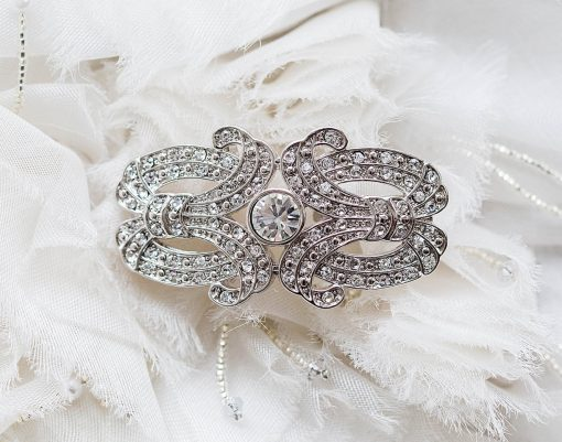 ANGELA NURAN DECO BROOCH