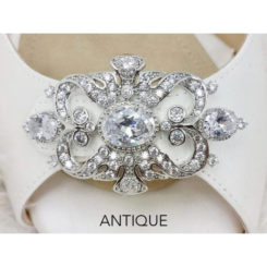 Antique brooch silver