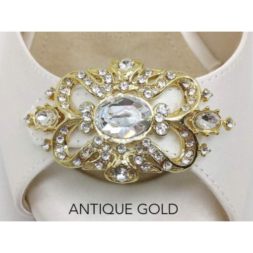 Antique brooch gold