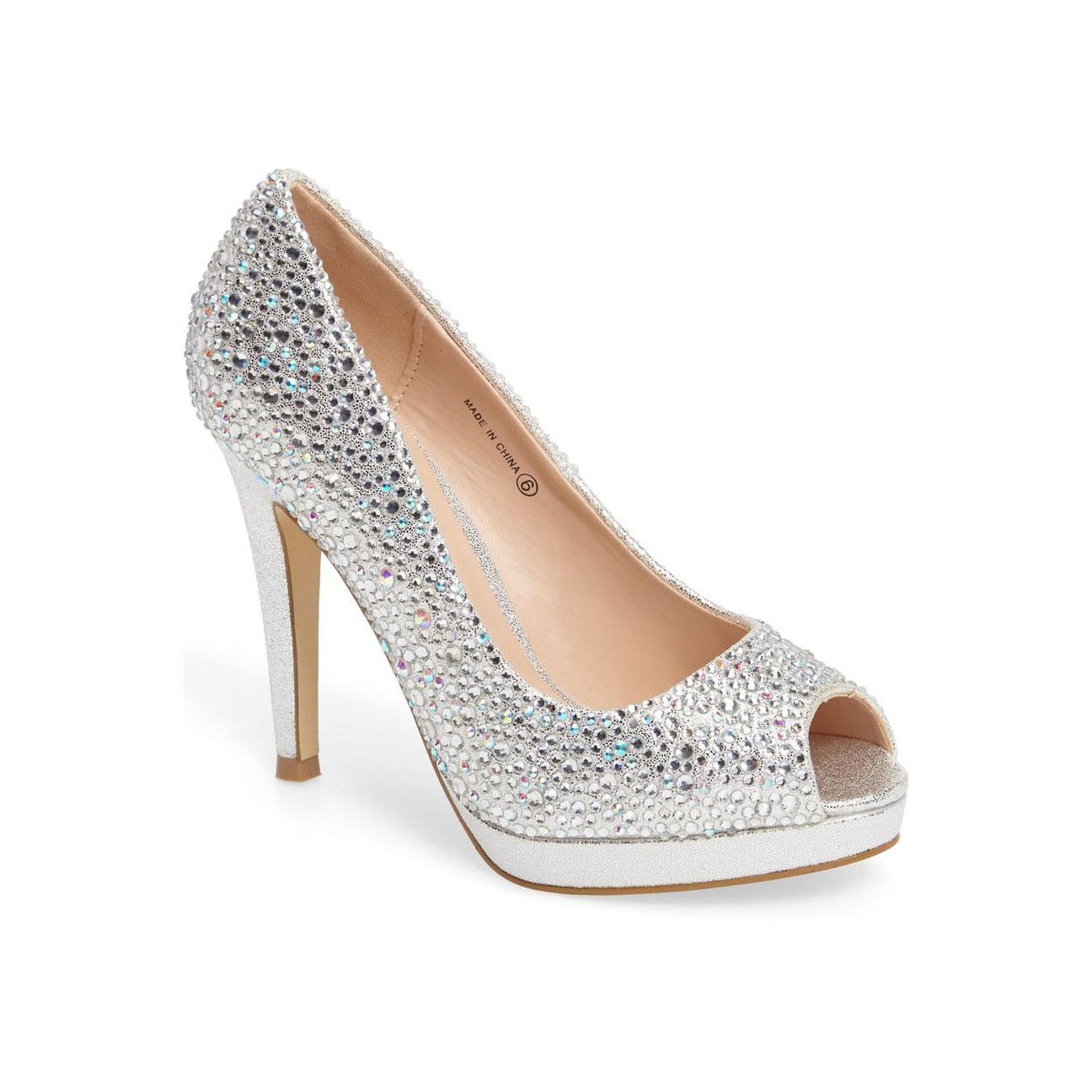 4 Inch Silver Heels