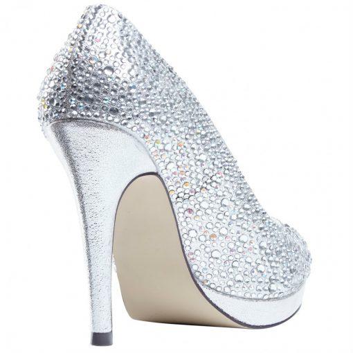 Pink Cassidy silver glitter