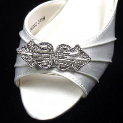 SILVER ASTORIA COLORS SHOE CLIP