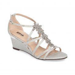 pink hadley silver glitter