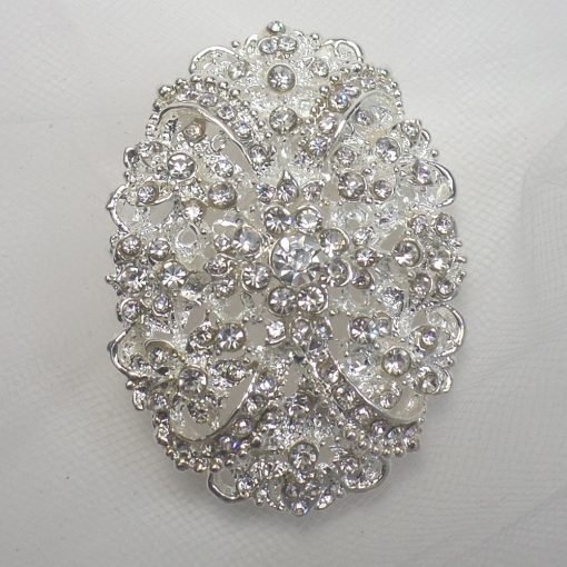 FIRST CLASS BRIDAL BROOCH 7205