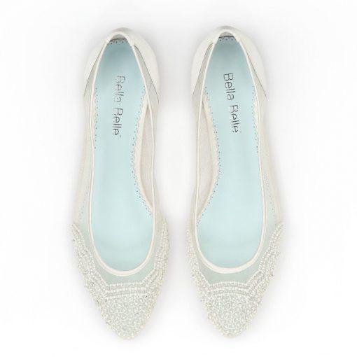 bella belle hailey ivory flat