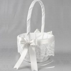 IVY LANE DESIGN BASKET CHANTILLY LACE