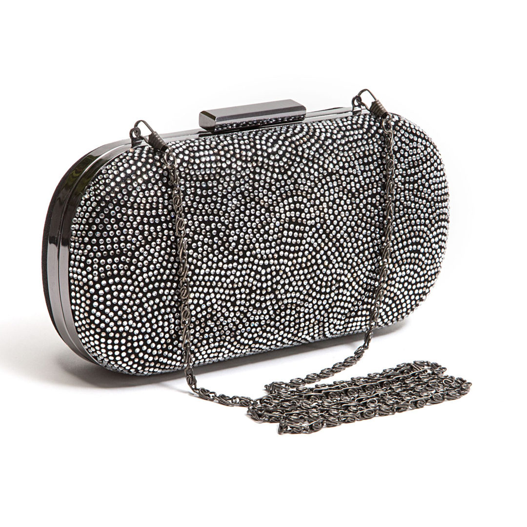 LADY COUTURE BAG BEAUTY BLACK SILVER