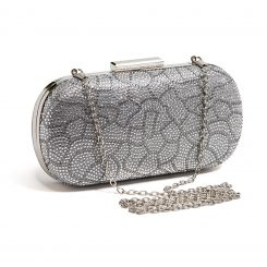 LADY COUTURE BAG BEAUTY SILVER