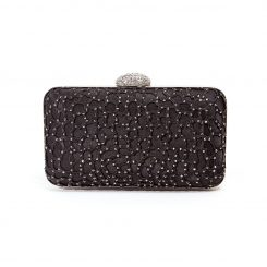 LADY COUTURE JEWEL BAG BLACK
