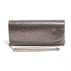 LADY COUTURE BAG ONYX PEWTER