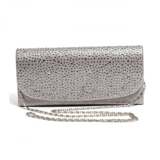LADY COUTURE BAG ONYX SILVER