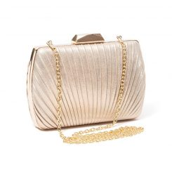 LADY COUTURE SHELL BAG GOLD