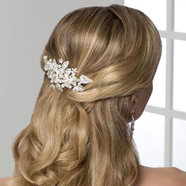BEL AIRE BRIDAL HAIR COMB 6202