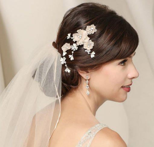 BEL AIRE BRIDAL HAIR COMB 6535