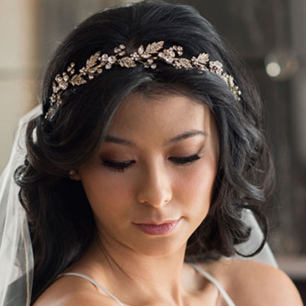 BEL AIRE BRIDAL HEADBAND 6683