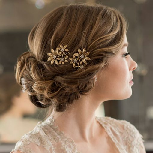 BEL AIRE BRIDAL SET OF 2 HAIRPINS 1723