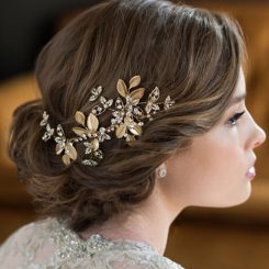 BEL AIRE BRIDAL HAIR BARRETTE 6656