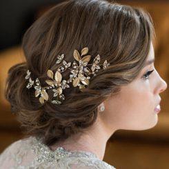 BEL AIRE BRIDAL HAIR BARRETTE 6656