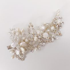 GISELLE BRIDAL HAIR BARRETTE H148