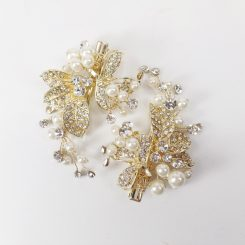 GISELLE BRIDAL HAIR BARRETTE H237