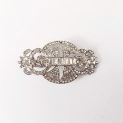 ANSONIA BRIDAL HAIR BARRETTE 8698
