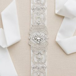 BEL AIRE BRIDAL BELT BT006