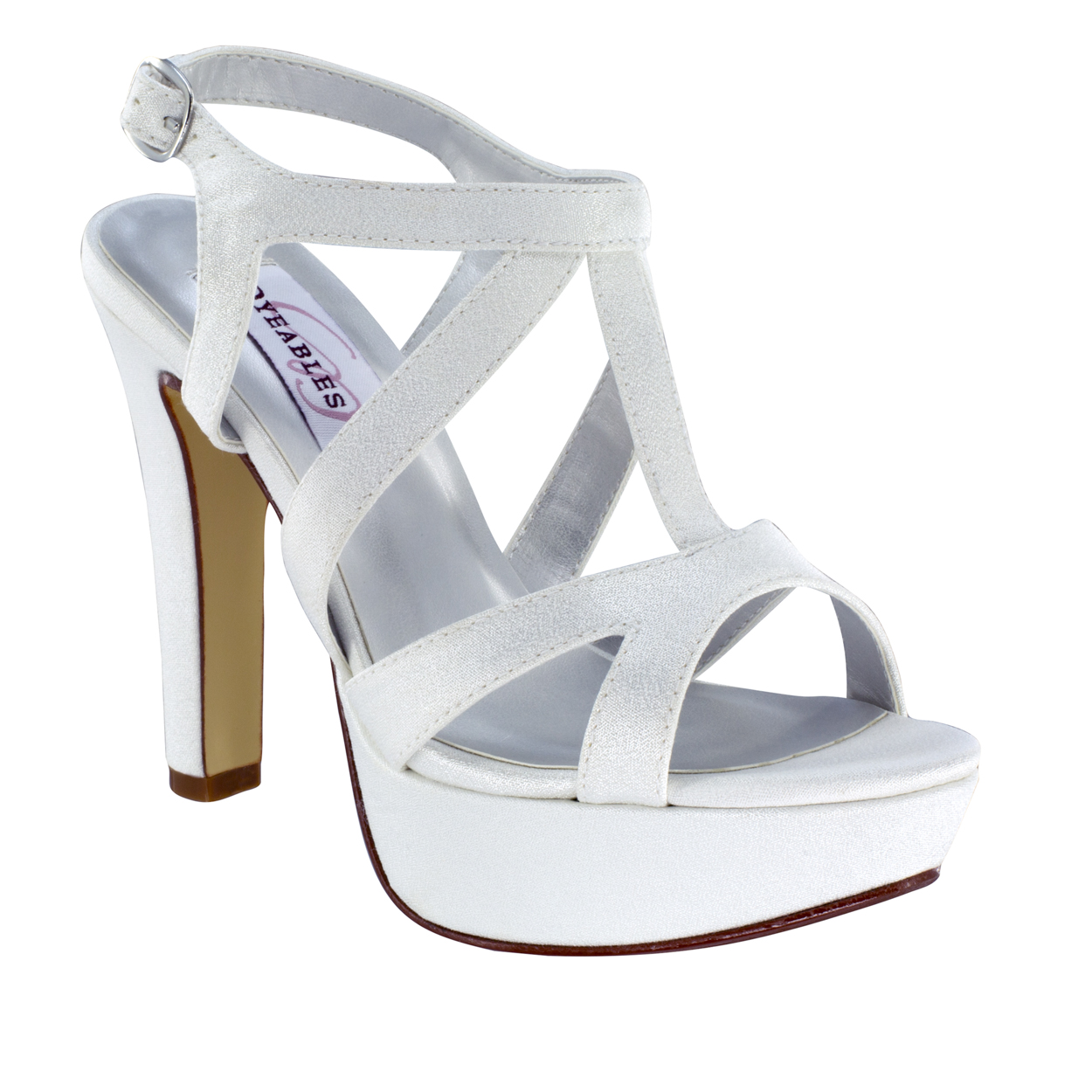 DYEABLES QUEENIE WHITE LUXE/CREPE