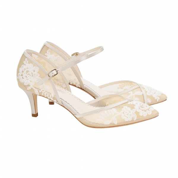 ampia selezione di design Vendita calda 2019 online BELLA BELLE- CANDICE NUDE KITTEN HEEL - Dyeable Shoe Store