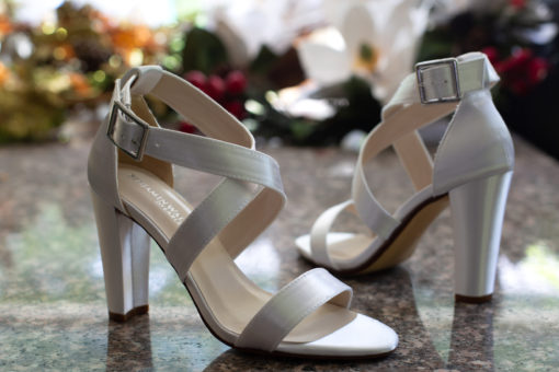 Dyeable colbie sandal styled shoot
