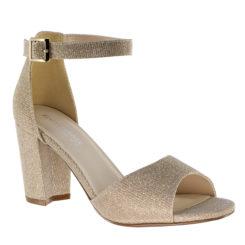 Touch Ups Amaya Champagne dressy block heel