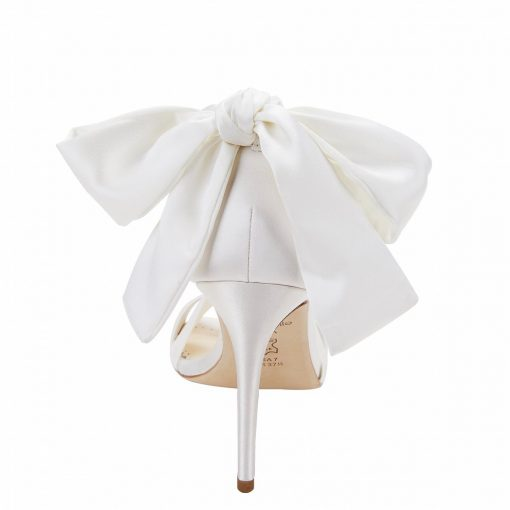 bella-belle-shoes-criss-cross-ivory-silk-and-bow-wedding-heel-kate Bow View